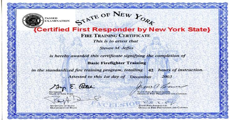 responder certified state